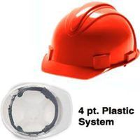 HARDHAT RED CHARGER 4PT SUS