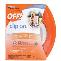 OFF! Clip On 71703 Fan Circulated Cordless Mosquito Repellent