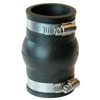 Fernco XJ-150 Flexible Pipe Expansion Joint Coupling