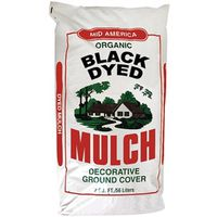MULCH DYED BLACK 2 CUBIC FEET