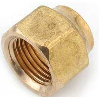 FLARE NUT 5/8 SHORT FORGED