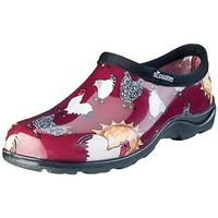 SHOE WOMEN WATERPROOF RED SZ 6