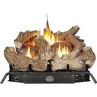 Dual Fuel Manual Gas Logs, 24""