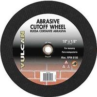 "Abrasive Cut Off Wheel, 10"" x 1/8"""