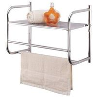 Homebasix BR32-CH Shelf/Towel Bar