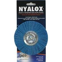Blue Nylon Mounted Wheel, 4""