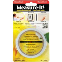 IPG Measure-It Adhesive Measuring Tape