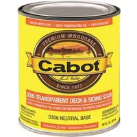 Cabot 300 Semi-Transparent Deck and Siding Stain