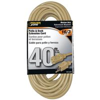 Powerzone OR884628 SJTW Extension Cord