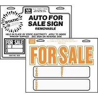 Hy-Ko Products 8X12 Static Auto For Sale Sign - Pack of 10 at Sears.com
