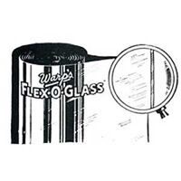 "Flex-O-Glass Window Material, 36"" x 50 Yds"