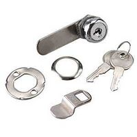 LOCK CAM CARDED 5/8IN CHROME