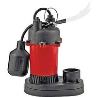 Sump Pump with Tethered Float, 1/4 Hp