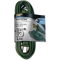 Extension Cord, 16/2 x 15' Green
