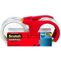 """Heavy Duty Tape with Dispenser, 1.88"""" x 54 Yds"""
