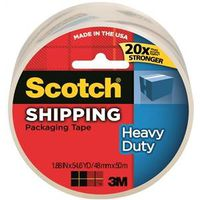 Scotch 3850/3501-CL Shipping Packaging Tape
