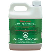 OIL LINSEED BOILED 946ML CLR