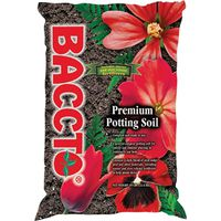 Michigan Peat 1225 Baccto Potting Soil, All Purpose, Premium, 25 Lb