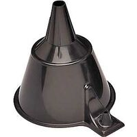 "1/2 Pint Funnel, 4"" Black"