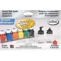 Acrylic Airbrush Refill Paint Set