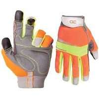 HI Visibility Gloves, Medium