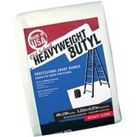 "Heavy Weight Butyl Drop Cloth, 4"" x 15"""