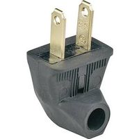 Cooper 84BK-SP Non-Grounded Angle Side Outlet Electrical Plug