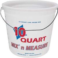Mix N Measure Pail with Handle, 10 Qt