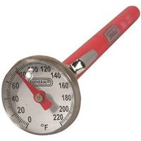 General Tools 321 Pocket Analog Thermometer With Magnifying Lens