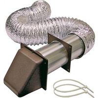 Lambro 1373B Preferred Hood Dryer Vent Kit