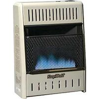 Dual Fuel Wall Heater, 10,000 Btu