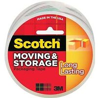 "Scotch Moving Storage Tape, 1.88"" x 54.6 Yds"
