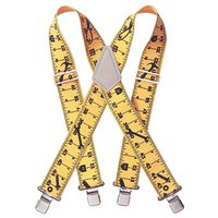 CLC Tool Works 110RUL Elastic Tape Rule Work Suspender