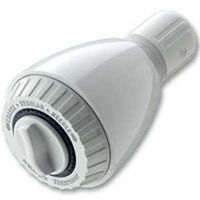 Water Pik Showersaver Shower Head, White 1.5 GPM