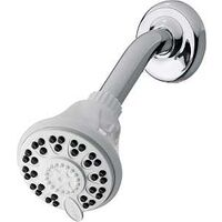 Four Mode Shower Head, White