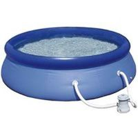 Summer Escapes OR-P21-0826-A-C Quick Set Ring Pool Kit