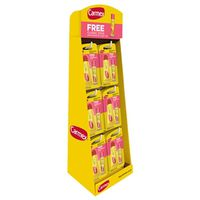 CARMEX 6 PEG DISPLAY 48PCS