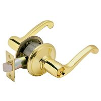 FLAIR PRIVACY LEVER BRT BRASS