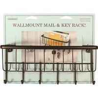 MAIL CENTER WALLMOUNT BRONZE