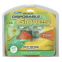 Camco 40285 Disposable Dump Gloves, One Size, Latex, Green