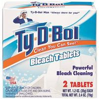 TOILET BOWL CLEANER BLEACH TAB