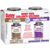 Oatey 30246 Primer/Cement Pack