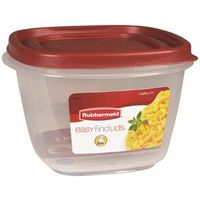 Eazy Find Lids 1777088 Square Food Container