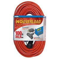 Prime Wire and Cable CB614735 No Overload Extension Cords
