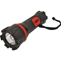 Rubber Flashlight with Xenon Bulb, 2D