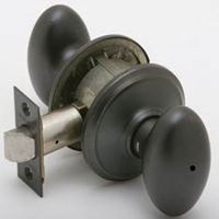 Schlage Siena F40 6-Way Egg Door Knob Lockset
