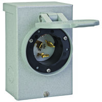 Power Inlet Box, 50 Amp