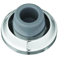 Concave Wall Door Stop, Chrome
