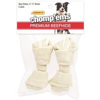TREAT RAWHIDE BONE 4-5IN 2CT