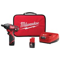 Milwaukee 2401-22 Compact Cordless Screwdriver Kit